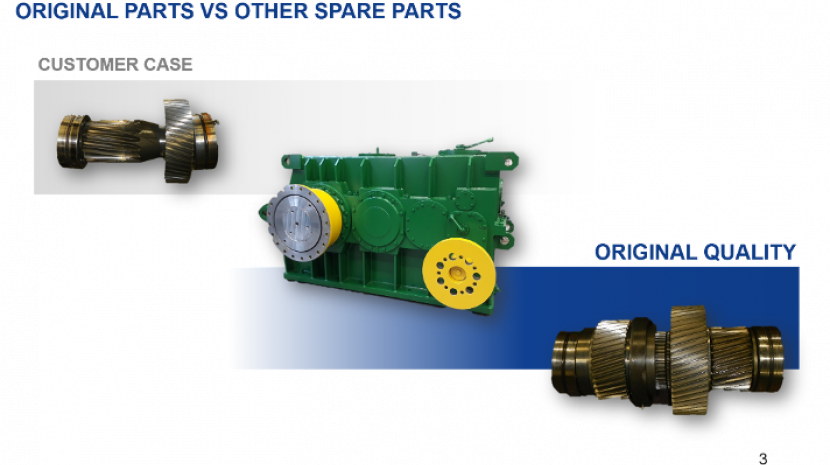 Original parts vs other spare parts
